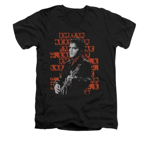 Image for Elvis V-Neck T-Shirt 1968