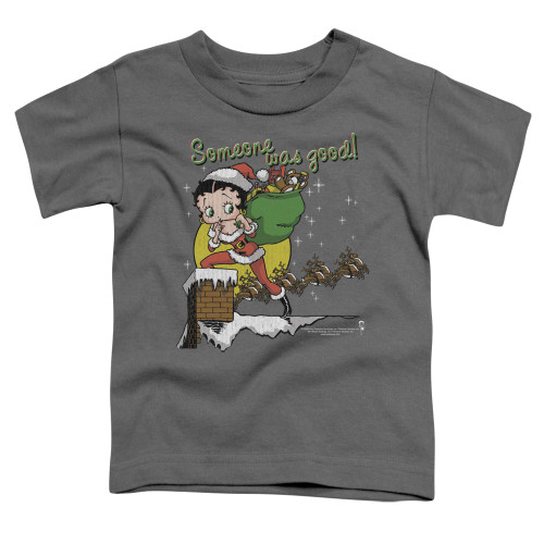 Image for Betty Boop Toddler T-Shirt - Chimney