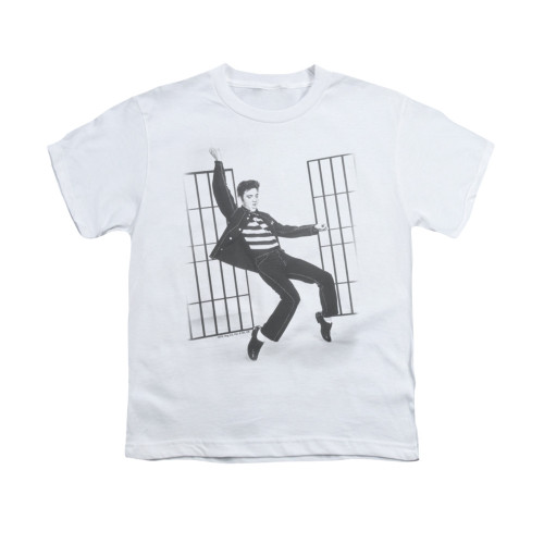 Image for Elvis Youth T-Shirt - Jailhouse
