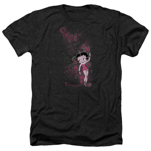 Image for Betty Boop Heather T-Shirt - Cutie