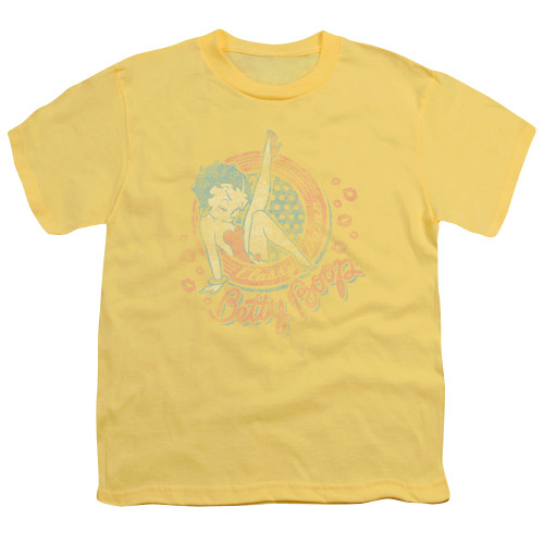 Image for Betty Boop Youth T-Shirt - Classy Dame