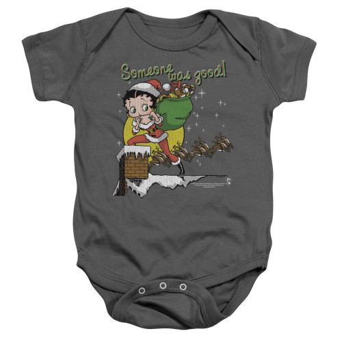 Image for Betty Boop Baby Creeper - Chimney