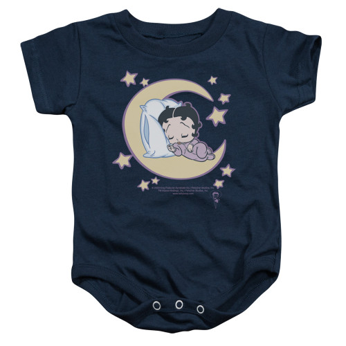 Image for Betty Boop Baby Creeper - Sleepy Time