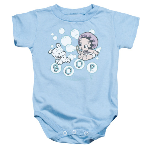 Image for Betty Boop Baby Creeper - Baby Bubbles