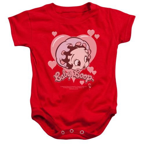 Image for Betty Boop Baby Creeper - Baby Heart