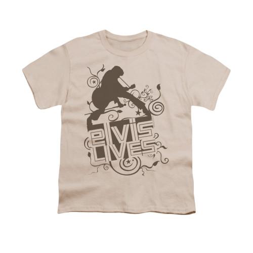 Image for Elvis Youth T-Shirt - Elvis Lives