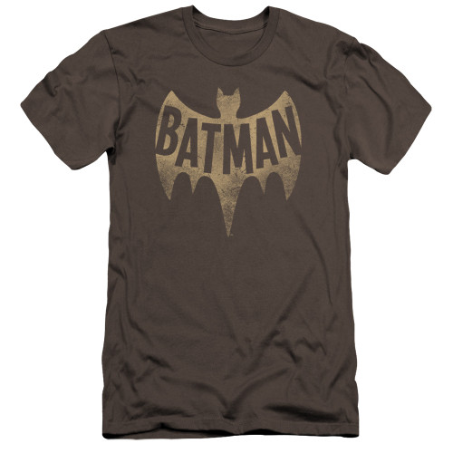 Image for Batman Classic TV Premium Canvas Premium Shirt - Vintage Logo