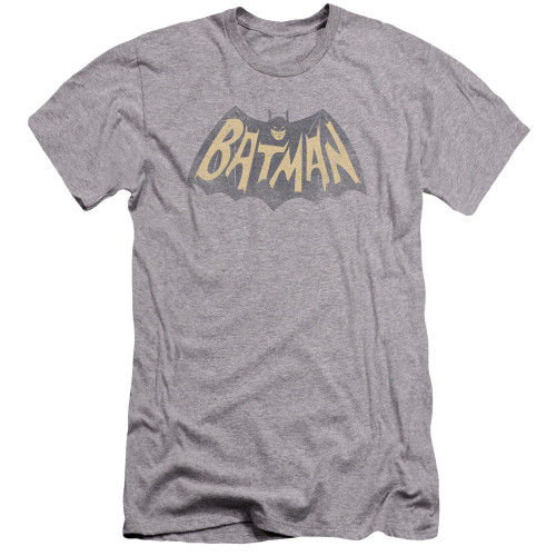 Image for Batman Classic TV Premium Canvas Premium Shirt - Show Logo
