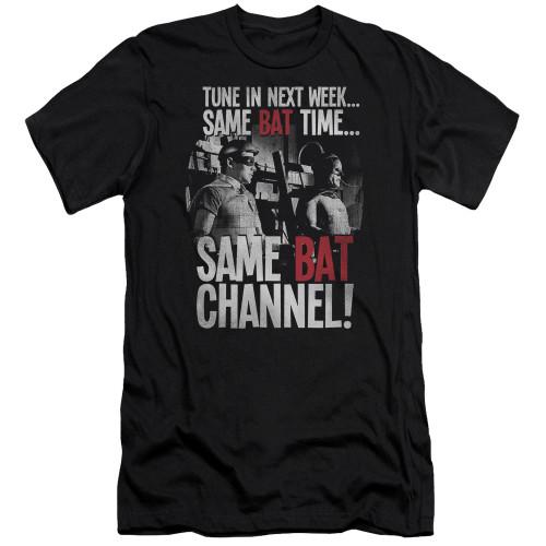 Image for Batman Classic TV Premium Canvas Premium Shirt - Bat Channel