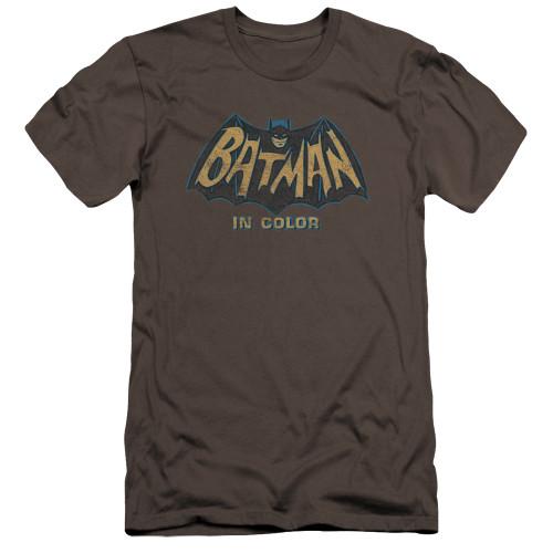 Image for Batman Classic TV Premium Canvas Premium Shirt - In Color