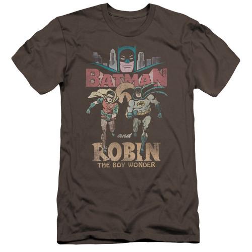 Image for Batman Classic TV Premium Canvas Premium Shirt - Classic Duo