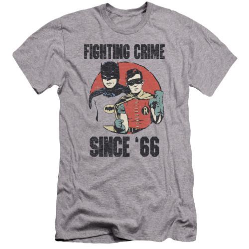 Image for Batman Classic TV Premium Canvas Premium Shirt - Since '66