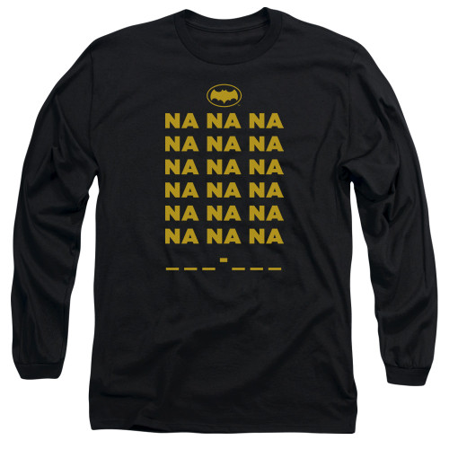 Image for Batman Classic TV Long Sleeve Shirt - Na na na