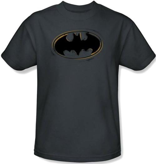 Image Closeup for Batman T-Shirt - Spray Paint Logo