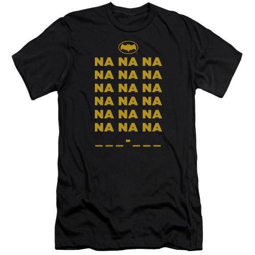 Image for Batman Classic TV Premium Canvas Premium Shirt - Na na na