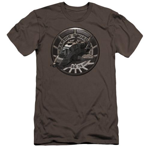 Image for Battlestar Galactica Premium Canvas Premium Shirt - Raptor Squadron
