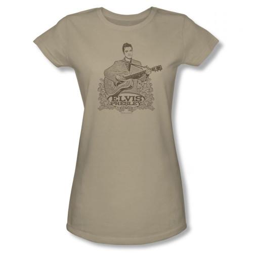 Image for Elvis Girls T-Shirt - Laurels