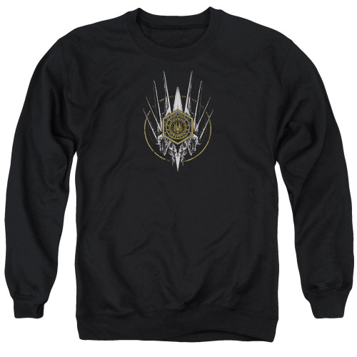 Image for Battlestar Galactica Crewneck - Crest of Ships