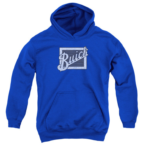 Image for Buick Youth Hoodie - Distressed Emblem