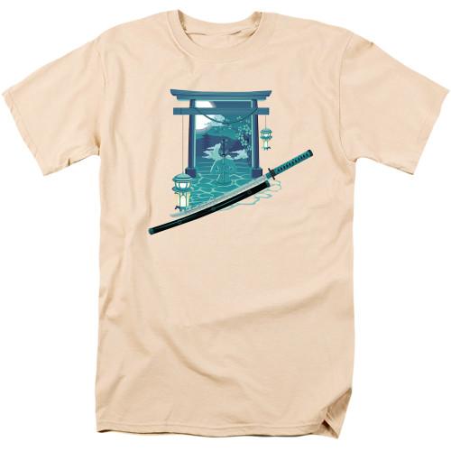 Image for Anime T-Shirt - Nightfall Tori Gate Sword