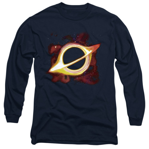 Image for Outer Space Long Sleeve Shirt - Black Hole Navy