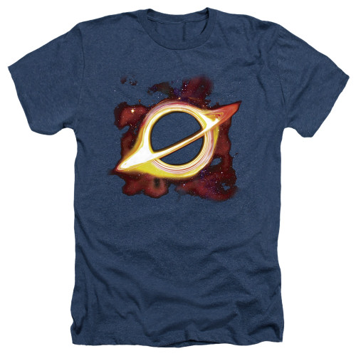 Image for Outer Space Heather T-Shirt - Black Hole Navy