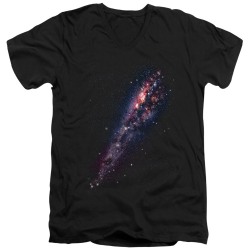 Image for Outer Space V Neck T-Shirt - Milky Way