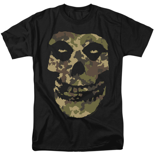 Image for The Misfits T-Shirt - Camo Skull