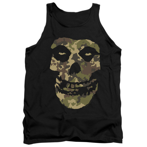 Image for The Misfits Tank Top - Camo Skull