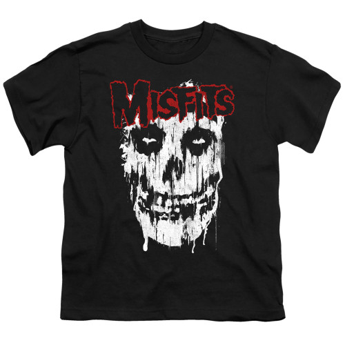Image for The Misfits Youth T-Shirt - Splatter