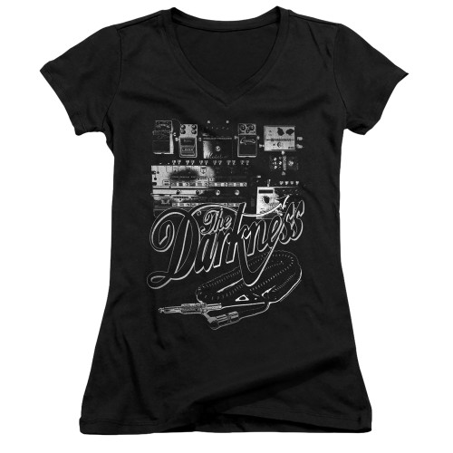 Image for The Darkness Girls V Neck - Pedal Board