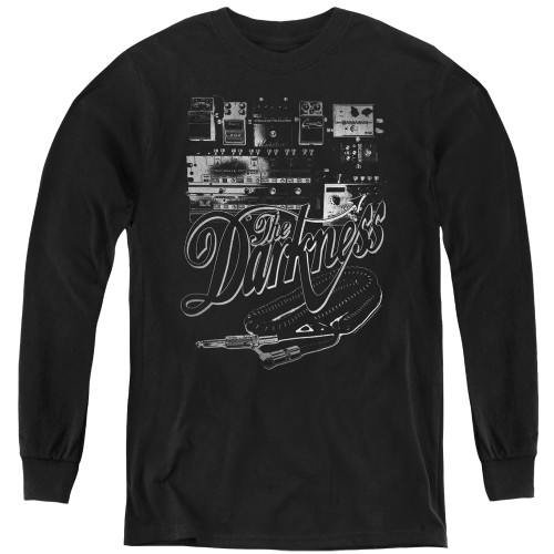 Image for The Darkness Youth Long Sleeve T-Shirt - Pedal Board