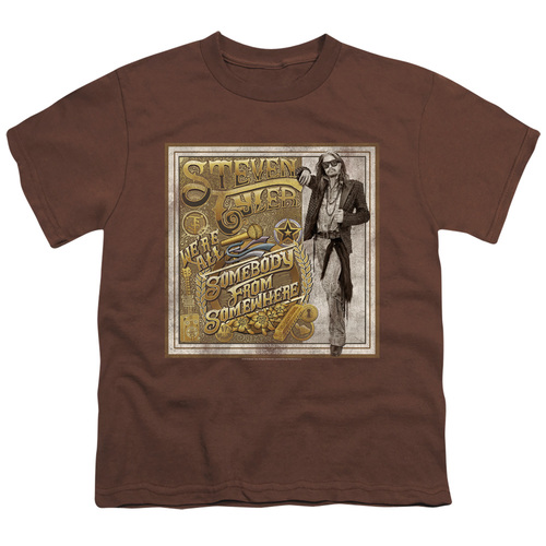 Image for Steven Tyler Youth T-Shirt - Somebody from Somewhere