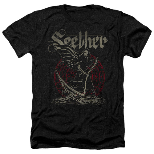 Image for Seether Heather T-Shirt - Reaper