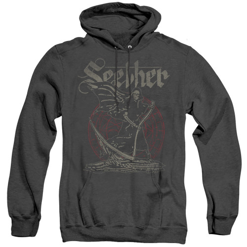 Image for Seether Heather Hoodie - Reaper