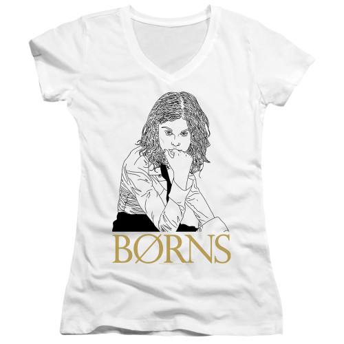 Image for Borns Girls V Neck - Outline