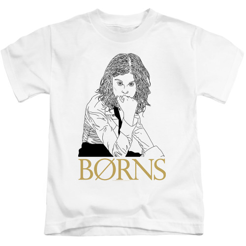 Image for Borns Kids T-Shirt - Outline