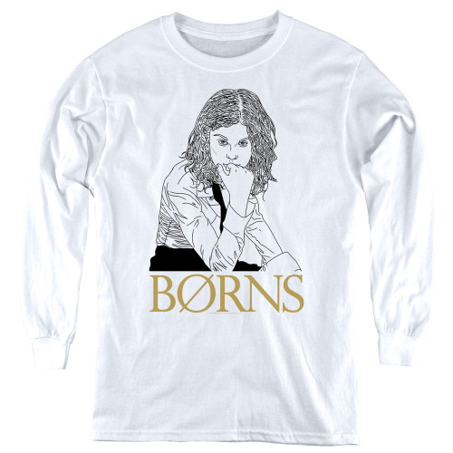 Image for Borns Youth Long Sleeve T-Shirt - Outline