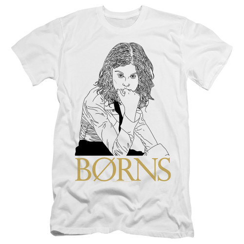 Image for Borns Premium Canvas Premium Shirt - Outline