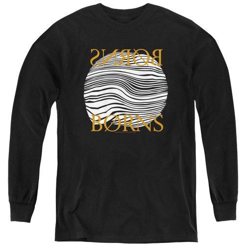 Image for Borns Youth Long Sleeve T-Shirt - Thumbprint