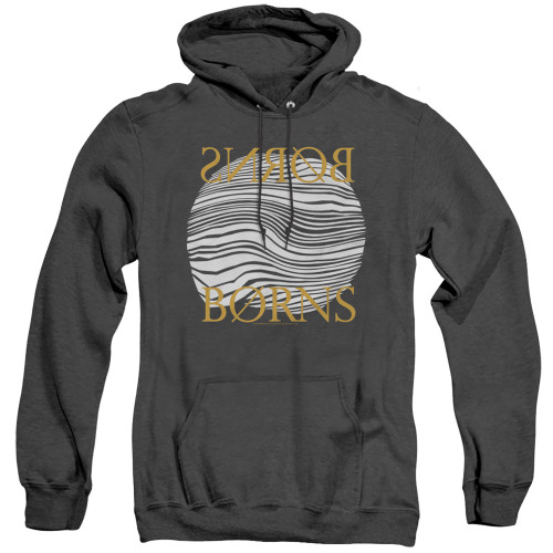 Image for Borns Heather Hoodie - Thumbprint