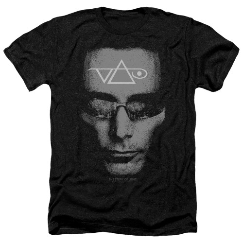 Image for Steve Vai Heather T-Shirt - Vai Head