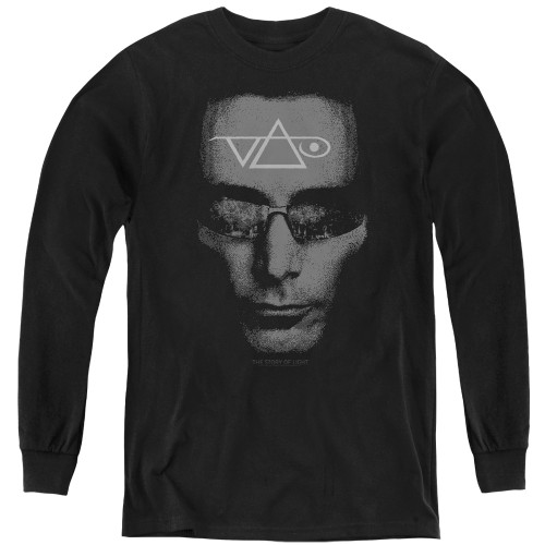 Image for Steve Vai Youth Long Sleeve T-Shirt - Vai Head