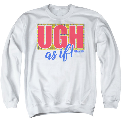 Image for Clueless Crewneck - Ugh As If