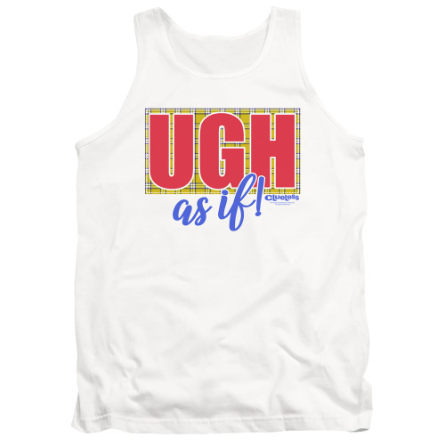 Image for Clueless Tank Top - Ugh As If