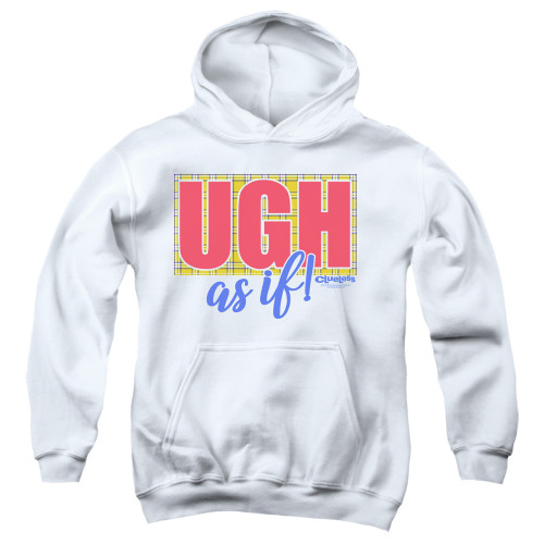 Image for Clueless Youth Hoodie - Ugh As If