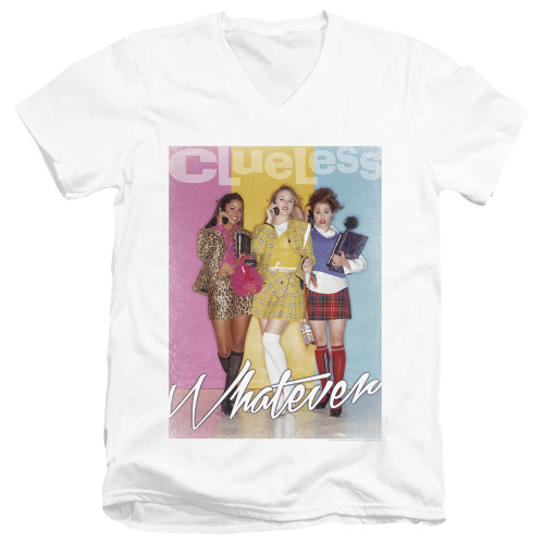 Image for Clueless V Neck T-Shirt - Whatever