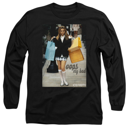 Image for Clueless Long Sleeve Shirt - Oops My Bad