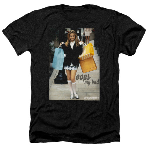 Image for Clueless Heather T-Shirt - Oops My Bad