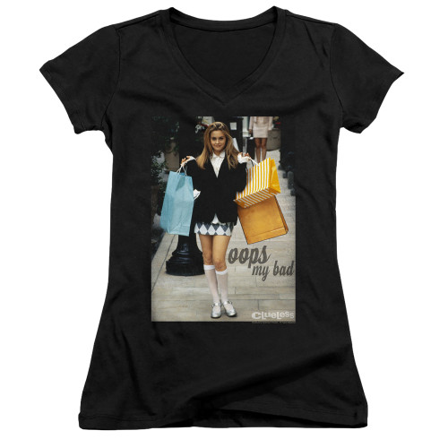 Image for Clueless Girls V Neck - Oops My Bad